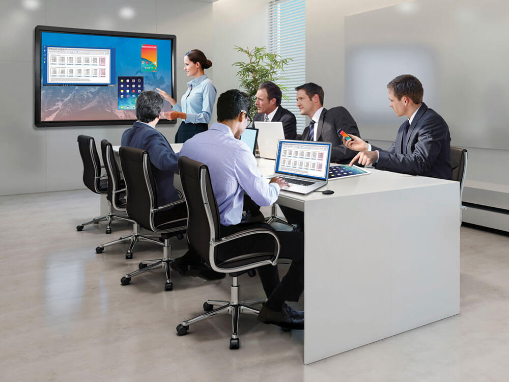 Clevertouch Business Interactive Touchscreens