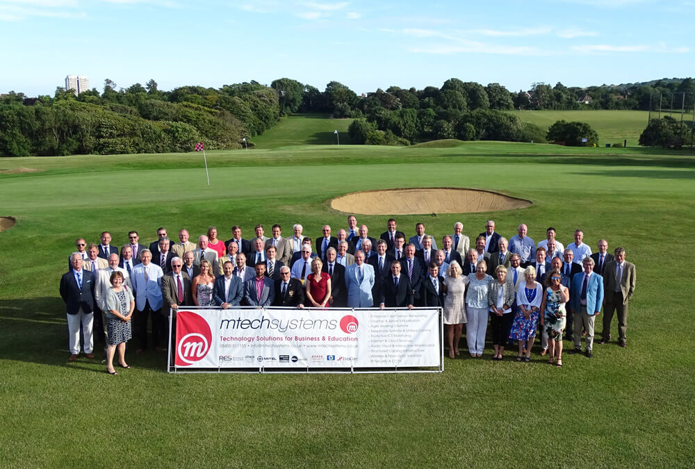 Eastbourne College Golf Day Group Photo