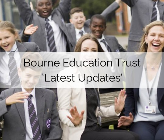 Bourne Education Trust Latest
