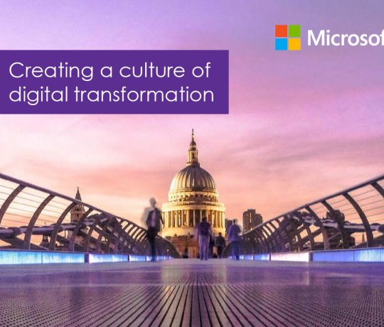 Creating a Culture of Digital Transformation