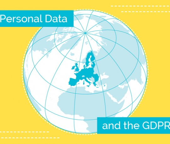 Personal Data and the GDPR