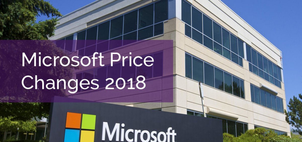 Microsoft Price Increases