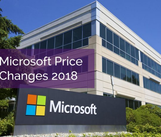 Microsoft Price Increases