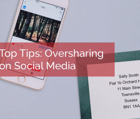 Oversharing Social Media