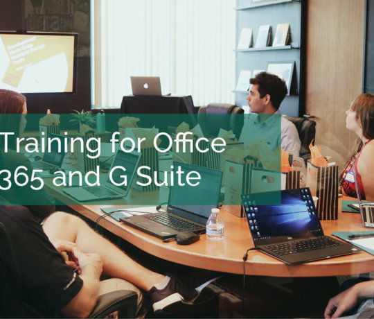 Office 365 and G Suite Training