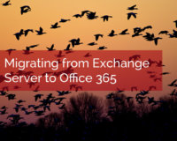 Exchange Server to Office 365
