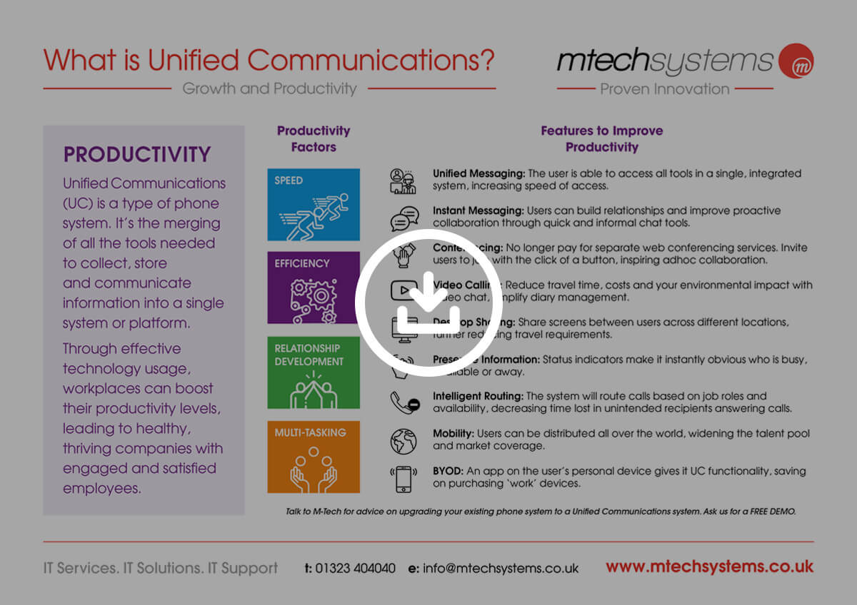 What is Unified Comms Download