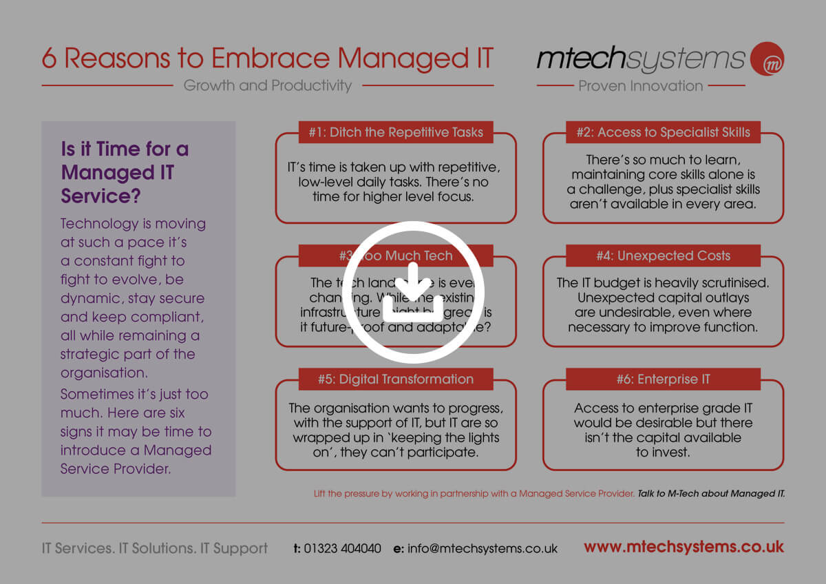 Embrace Managed IT Poster