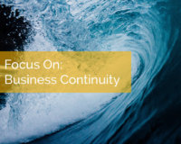 Focus On: Business Continuity