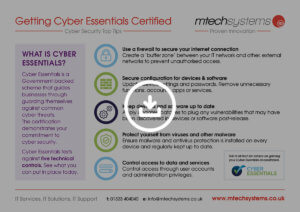 Getting Cyber Essentials Certified