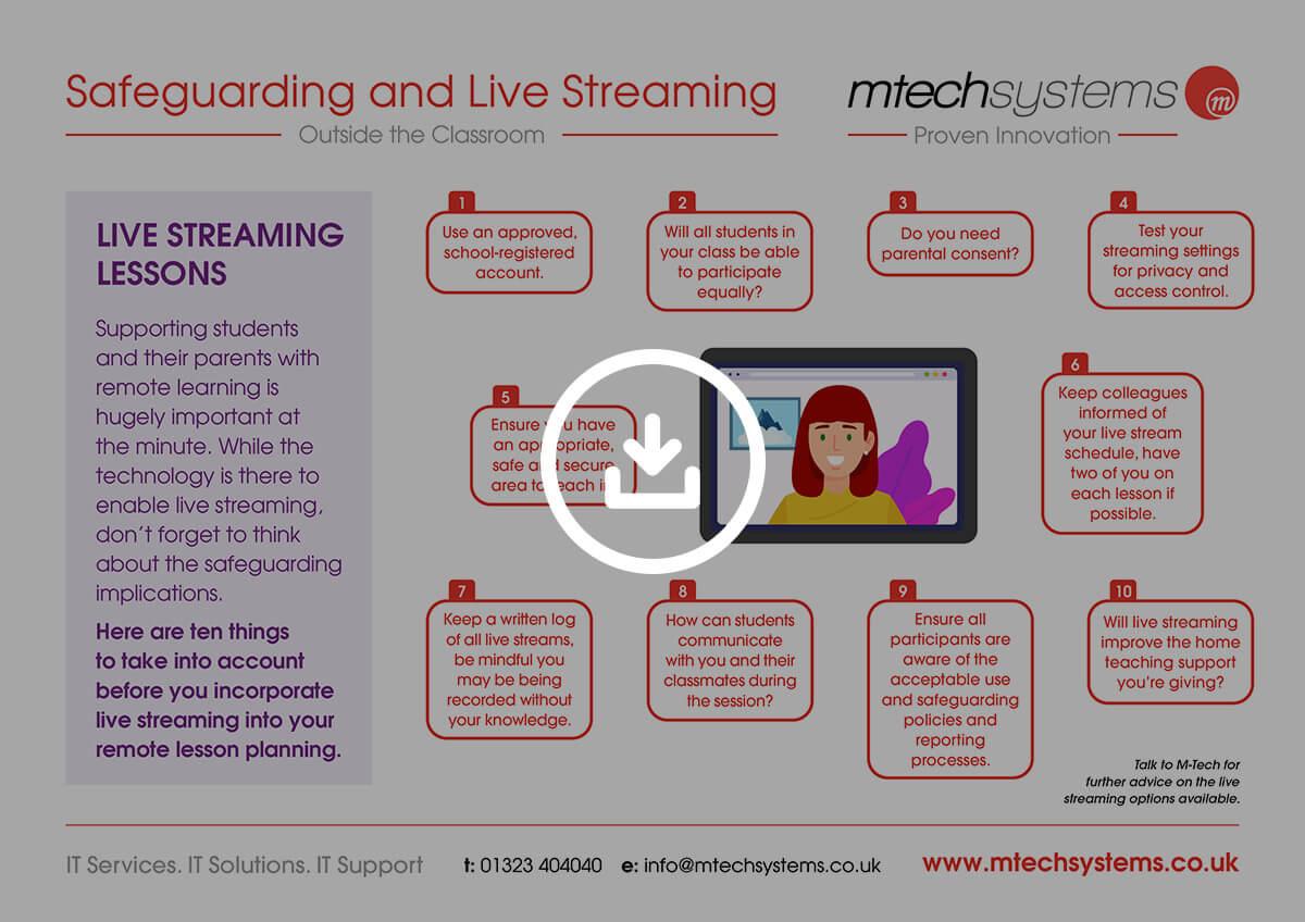 M-Tech Safeguarding Live Streaming