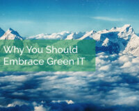 Why You Should Embrace Green IT