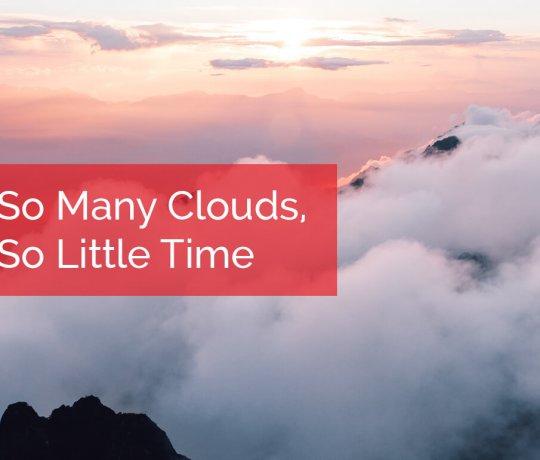 So Many Clouds - Cloud Models