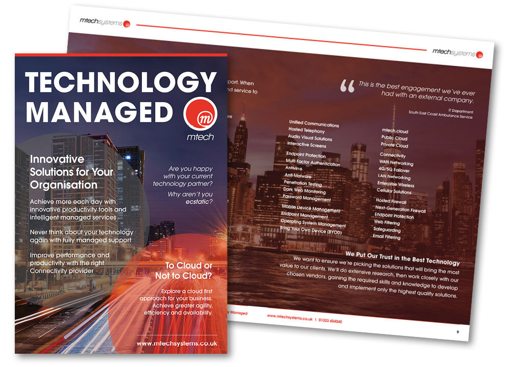Technology Managed Brochure