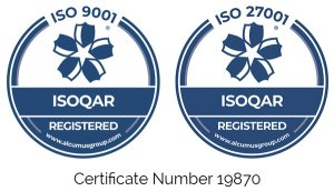 ISOQAR ISO 9001 27001